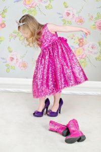 Bambina scarpe